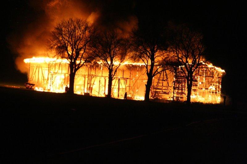 Scheunenbrand in Liebenburg