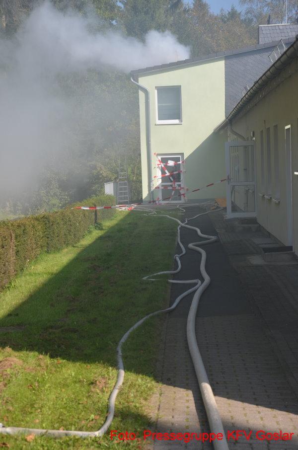 18 Verletzte bei Feuer in Alten- und Pflegeheim