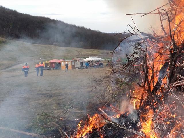 Brandsicherheitswachdienste für Osterfeuer