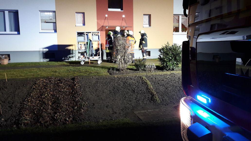 Geplatzte Wasserleitung machte Einsatz der Feuerwehr erforderlich