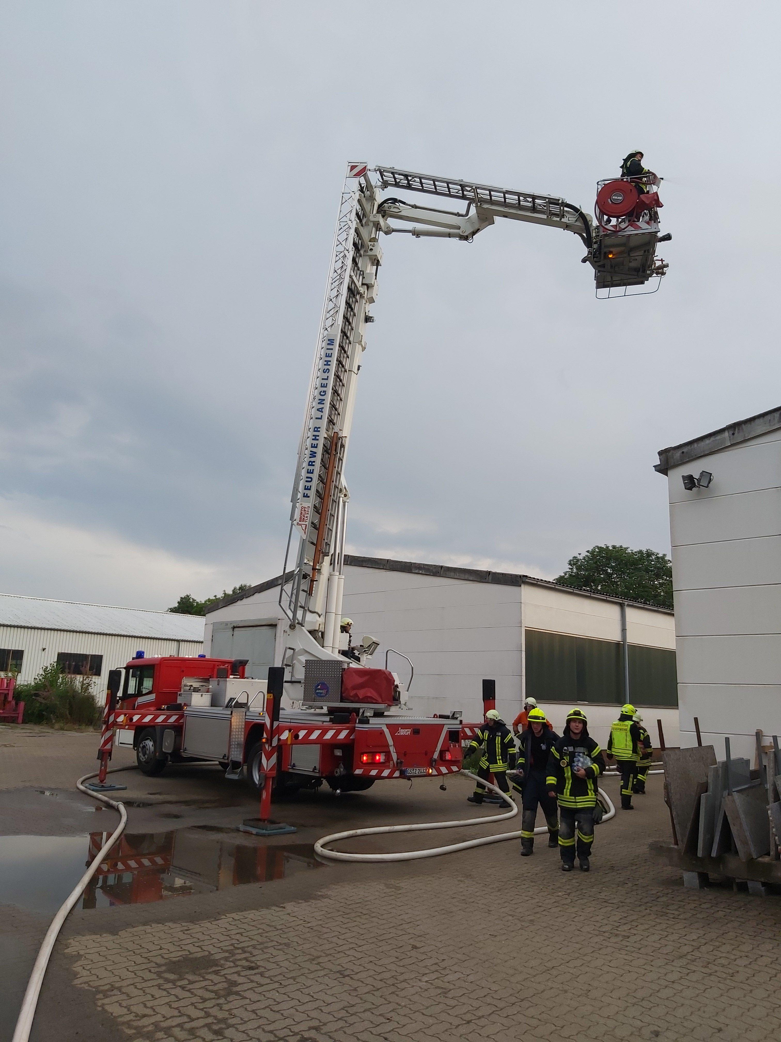 Zugdienst mit der Feuerwehr Langelsheim