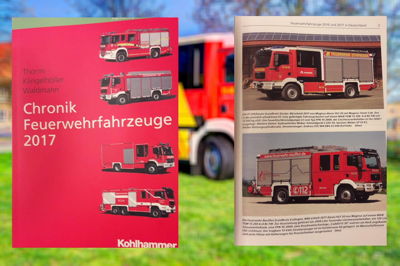 """Othfresener HLF 20 im Buch """" Chronik Feuerwehrfahrzeuge 2017″"""