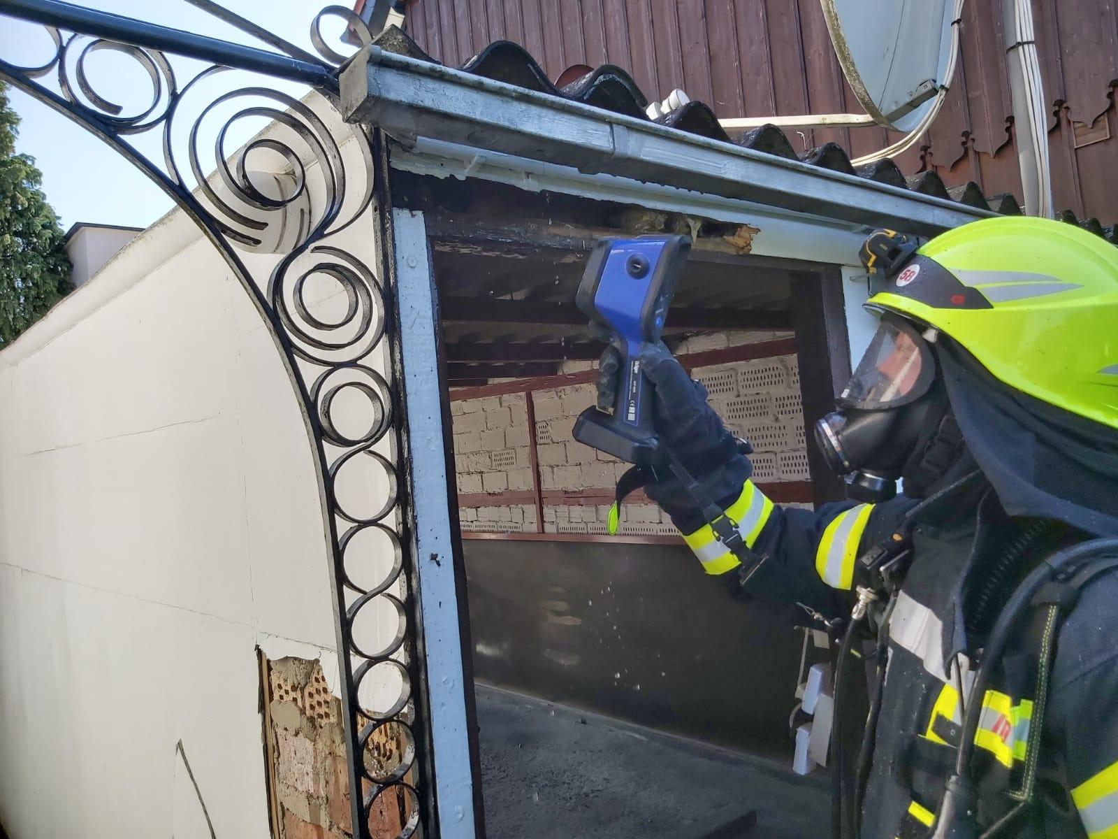 Garagenbrand in Dörnten