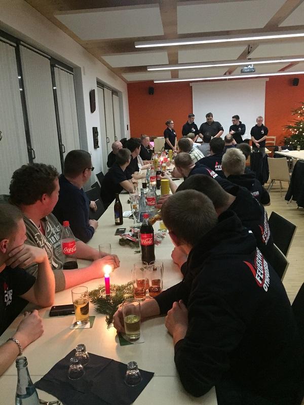 Weihnachtsfeier der Feuerwehr Othfresen