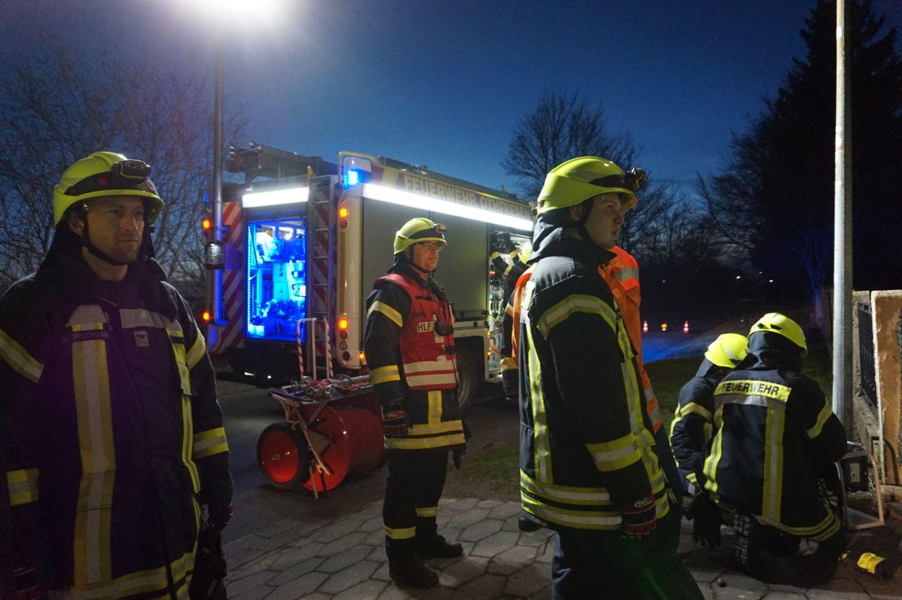 Unwetter beschert mehrere Einsätze für die Feuerwehr